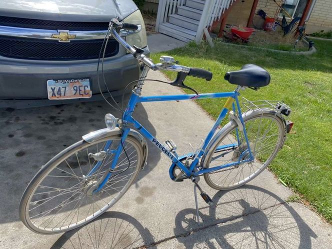 Peugeot Vintage Bicycle Mangalloy, Reams FRANCE for sale in Springville , UT