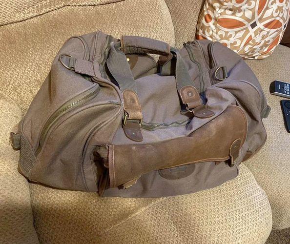 VTG High Sierra Georgian Bay Canvas Leather Duffle for sale in Springville , UT