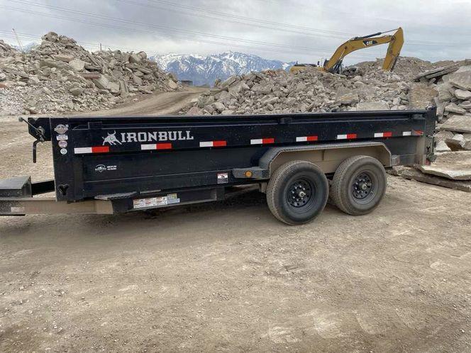 7x14 dump trailer for rent  for rent in Sandy , UT