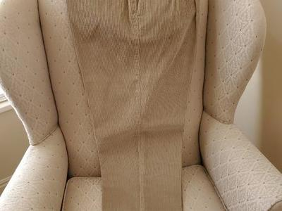 NEW tan Dockers corduroy pants with cuffs 34w 30L