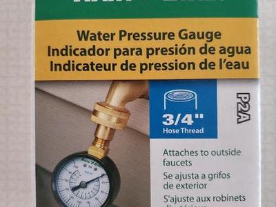 NEW Rain Bird P2A  water pressure test gauge