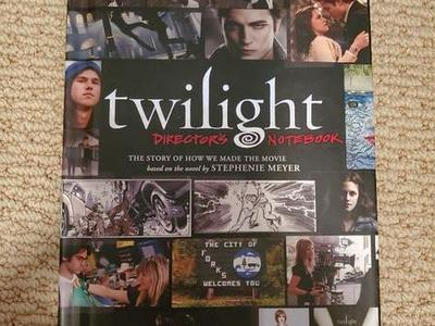 NEW Twilight Directors Notebook