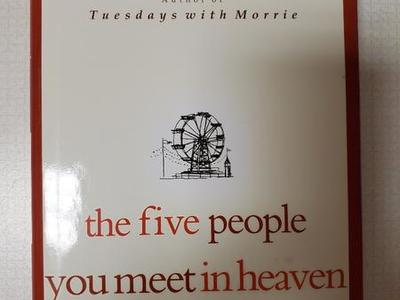 NEW The Five People You Meet in Heaven by Mitch Albom