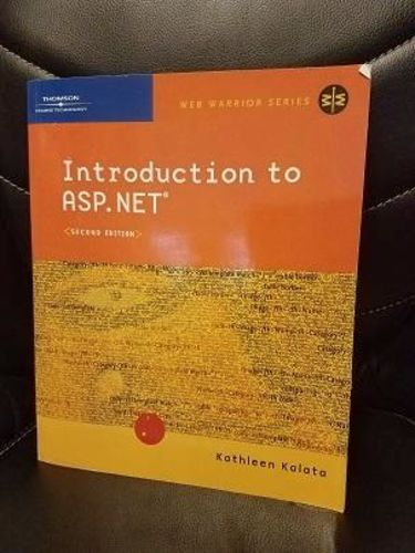 NEW Introduction to ASP.net by Kathleen Kalata for sale in Midvale , UT