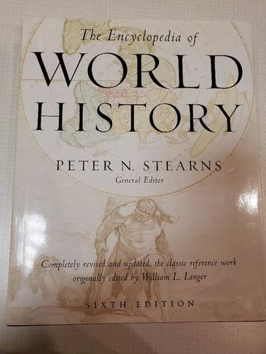 NEW The Encyclopedia of World History: Ancient, Medieval, and Modern, Chronologically Arranged for sale in Midvale , UT