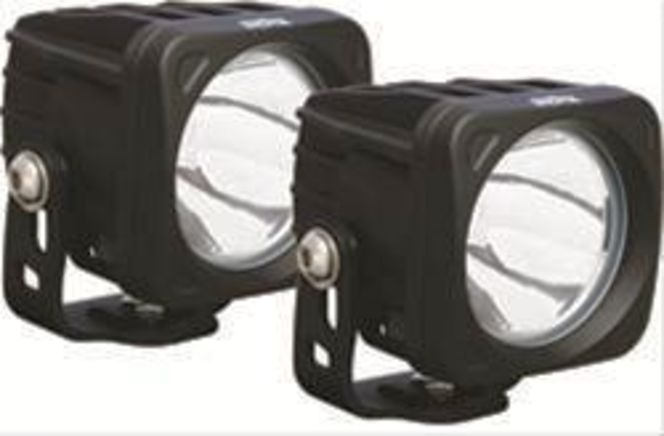 Vision X Optimus Series LED Auxiliary Lights X2 pods. Jeep RZR Universal for sale in Draper , UT