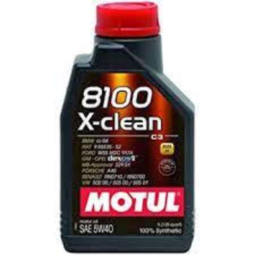 Motul Oil 5W-40 Synthetic Motor Oil 8100 X-Clean SAE , 1 Liter (1.06 Quarts) for sale in Draper , UT