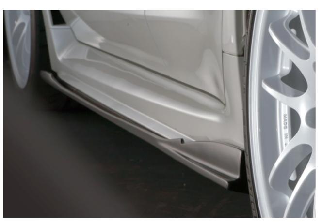 Subaru WRX STI Blitz Side Skirts Aero Speed R-Concept  Fits 2015-202 Subaru Impreza WRX and STI VA FA EJ for sale in Draper , UT