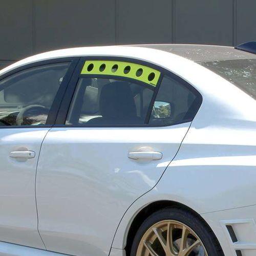 PERRIN Rear Window Vents For 2015 - 2021 Subaru Impreza WRX or STI WRXSTI FA VA EJ  Neon Yellow Rear  Window for sale in Draper , UT