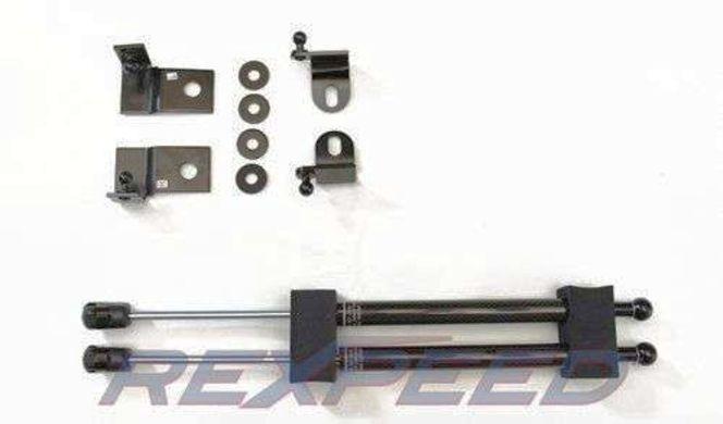 Rexpeed Carbon Fiber Hood Dampers For FRS FR-S BRZ FT86 FT86 Toyota 86 Rex peed for sale in Draper , UT