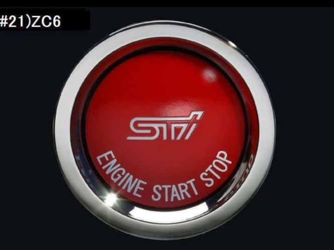 Subaru BRZ STI Push Start Button Without Status Light FA BRZ WRXSTI for sale in Draper , UT