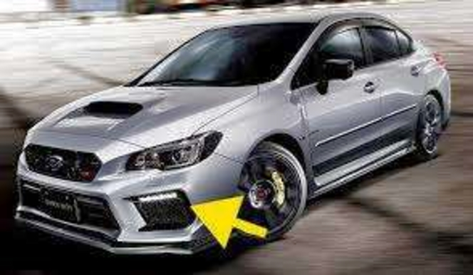 Subaru JDM STI LED Fog Light Bezel Accessory Liner Kit WRX or STI 2018 -2021 VA VAB FA FA20 EJ EJ255 EJ257 for sale in Draper , UT