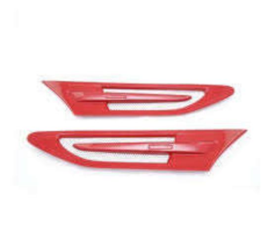Prova Front Fender Emblem for Subaru BRZ Scion FRS Toyota 86 FR-S in Lightning RED for sale in Draper , UT