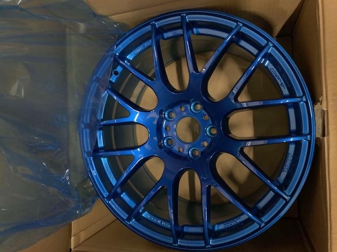 **ONLY 3 wheels** Work Emotion M8R 18x9.5 +38mm || 5x114.3  Subaru Impreza WRX STI 240 EVO Honda Civic WRXSTI for sale in Draper , UT