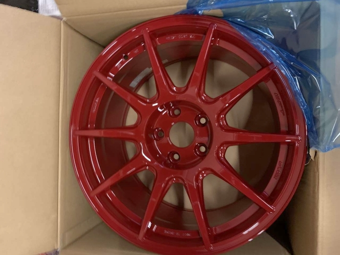 Work Wheels M.C.O Racing Type CS 5x114.3 Wheels with M-Face 18x9.5 +35 offset Subaru Impreza WRX STI EVO Honda Civic Supra for sale in Draper , UT