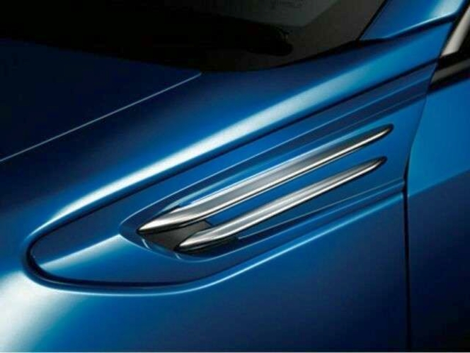 Subaru OEM Satin Silver Fender Blade Trim Covers 2017-2020 Subaru BRZ for sale in Draper , UT