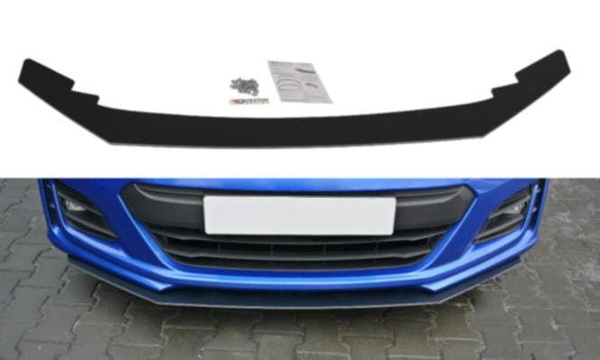 Maxton Design V2 Black Facelifted Racing Splitter - 2017+ BRZ for sale in Draper , UT