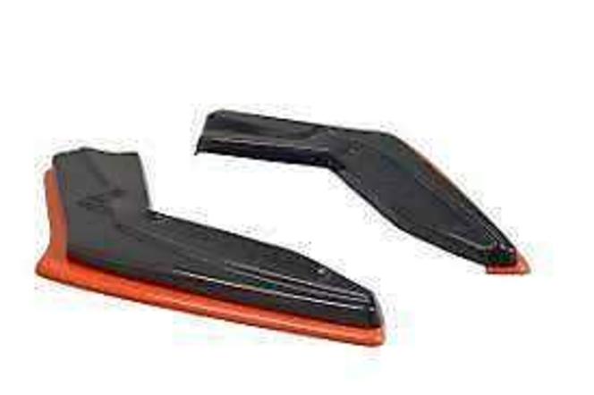 Maxton Design V2 Redline Gloss Black Rear Side Splitters 17+ 86 TOGT861FRSRDD1G for sale in Draper , UT