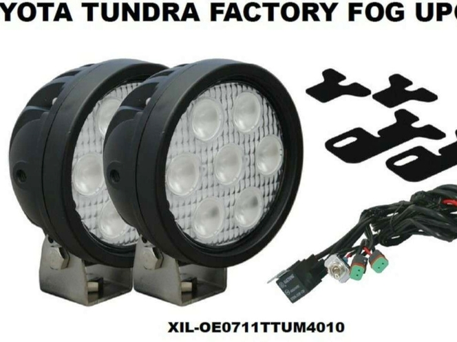 Vision X Fog Light 2007-2011 Toyota Tundra Upgrade Kit With Led Lights XIL-OE0711TTUM for sale in Draper , UT