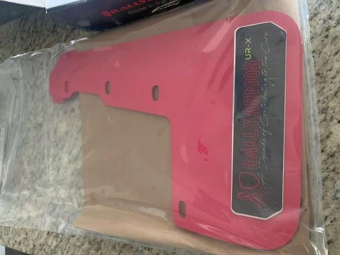 Rally Armor UR Mudflaps Breast Cancer Awarness Pink Black Emblem 2015+ WRX STI for sale in Draper , UT
