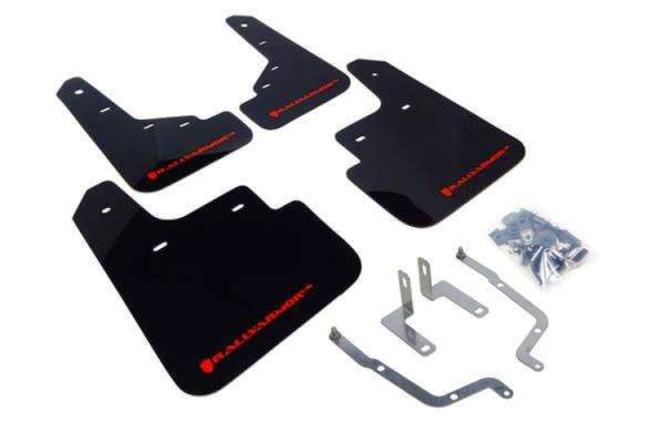 Rally Armor UR Mudflaps Black Urethane Red Logo Subaru Impreza non AeroKit 12-15 for sale in Draper , UT