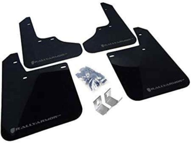 Rally Armor UR Mudflaps Black Urethane Grey Logo Subaru WRX 2008-2010 / Impreza for sale in Draper , UT