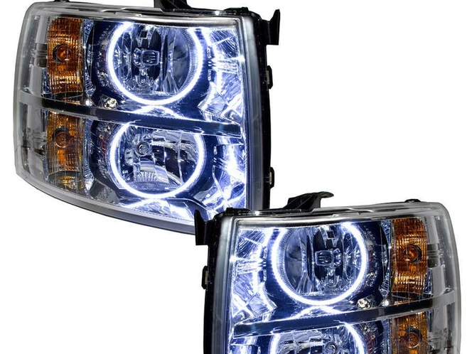 GMC Sierra Truck, Halo Headlights by Oracle 2007-2013 Labor Day Sale Pricing $240! for sale in Draper , UT