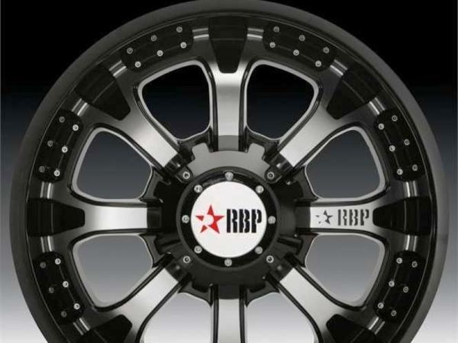 RBP 96R 20x9 -25 offset 8x170 Wheels *X2 WHEELS ONLY * RBP wheels Ford Diesel Ford PowerStroke Power Stroke SuperDuty Super Duty for sale in Draper , UT
