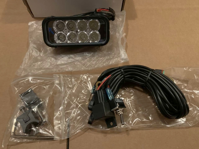 Vision X Xmitter Off-Road LED Light Bar   Euro Beam 2 Row  6inch Long Jeep Wrangler JK JT Cj Polaris RZR for sale in Draper , UT