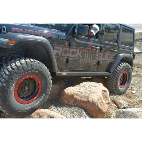 Jeep Wrangler Jeep JL 4 door RockSlide Engineering Driver Side Step Slider **Driver side ONLY** Rock Slider Labor Day Sale $620! for sale in Draper , UT