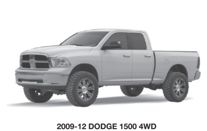 Fabtech 2009-12 DODGE 1500 Ram 4WD FTS23037 Component Box 2 Labor Day Sale Pricing $500! for sale in Draper , UT