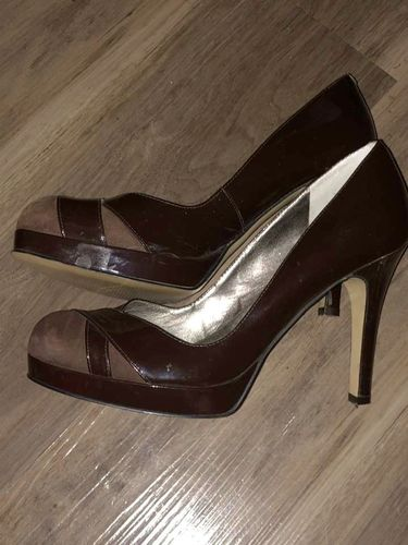 Marc Fisher Patent Leather Suede Heels for sale in Sandy , UT