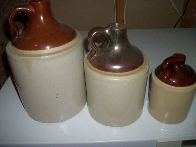 3 Old Moonshine Whiskey Jugs for sale in Cove , UT