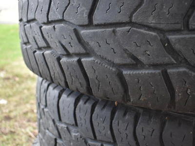 (PRICE DROP) 18 inch tires, size in photo, load range E