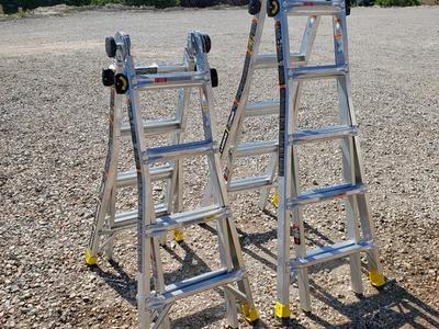 FOR RENT / EN ALQUILER 18' Multiposition Ladder