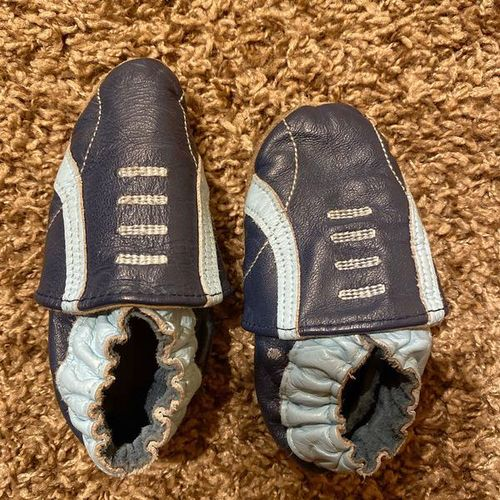 Baby Size 6 - 12 Month Shoes Boy Blue Navy for sale in South Jordan , UT