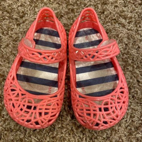 Super Cute Baby Size 2 Pink Salmon Colored Sandals for sale in South Jordan , UT