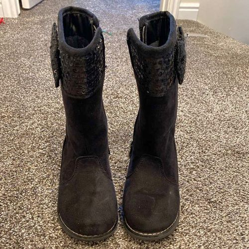 Little Girl Gymboree Size 10 Black Boots for sale in South Jordan , UT