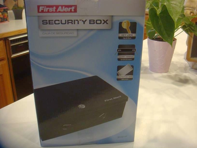 Brand new First Alert security box with key  801-441-8632 for sale in Sandy , UT
