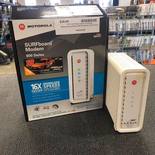 Motorola Surfboard SB6183 Modem for sale in Clearfield , UT