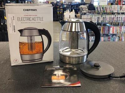 Chefman Electric Kettle With Removable Tea Infuser