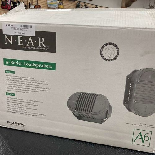 2 Near A6wht Speakers  for sale in Clearfield , UT