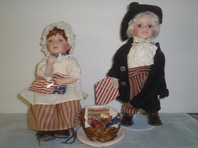 Porcelain dolls - 31 dolls - $8 to $60 ea NEW
