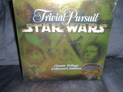 Trivial Pursuit Star Wars Classic Trilogy Col -NEW