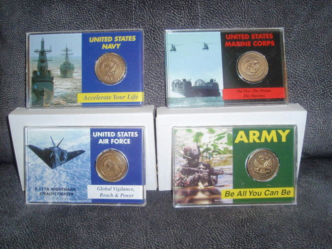 Avon Military Mint - coin sets NEW IN BOXES. for sale in Murray , UT