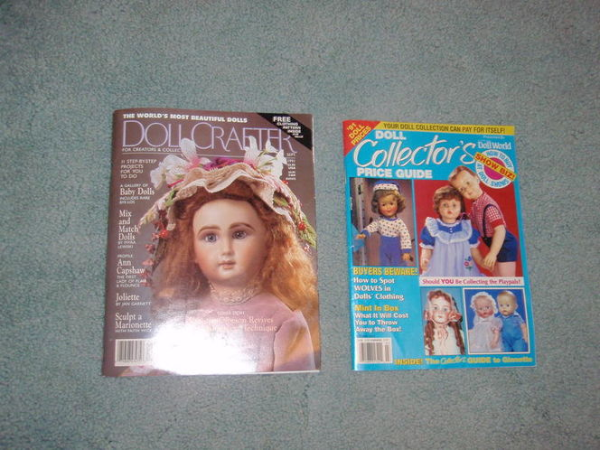 Doll Crafter and Doll Collector's Price Guide maga for sale in Murray , UT