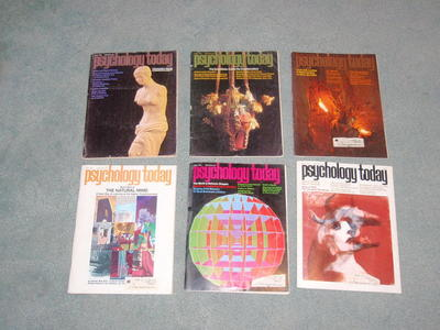 Psychology Today magazines 1972 & 1973, 12 magazin