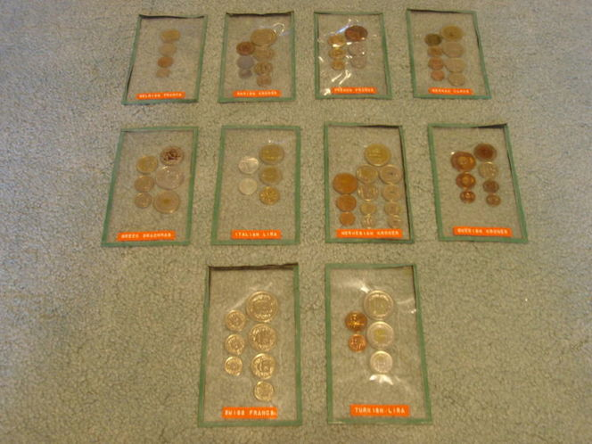 Foreign coins from 10 countries for sale in Murray , UT