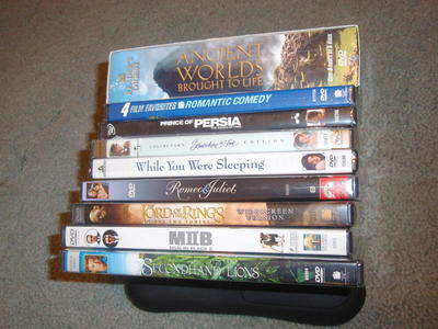 DVDs – NEW – 10 - $6 to $20 ea