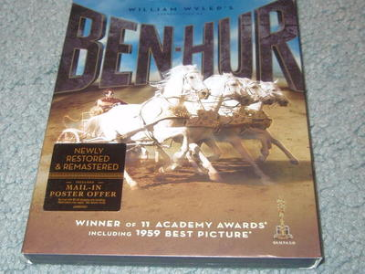 Ben Hur DVD – used - viewed only a few times